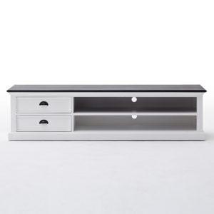CA592-180CT | Halifax Contrast Large ETU w/ 2 drawers