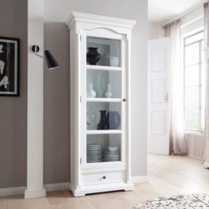 CA606   Provence Glass Cabinet