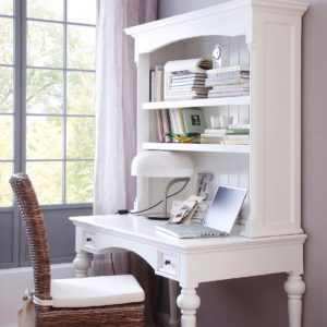 T771   Provence Secretary Desk with Top