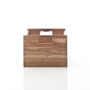 MBM001   Bordeaux Mahogany Crate Medium for B128, B129, B181, B189 (Set of 2)