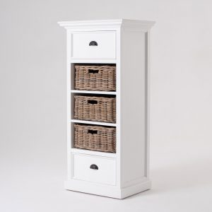 CA589L | Halifax Grand Storage Unit with Basket Set