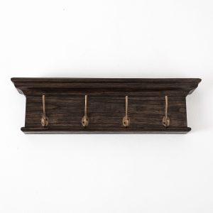D160BW | Halifax Mindi 4 Hook Coat Rack