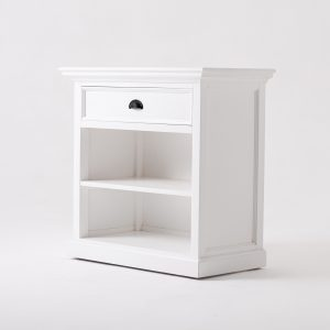 T764L | Halifax Grand Bedside Table with Shelves