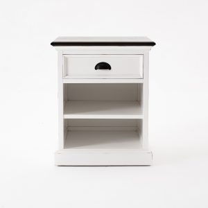 T790TWD | Halifax Accent Bedside Table with Shelves